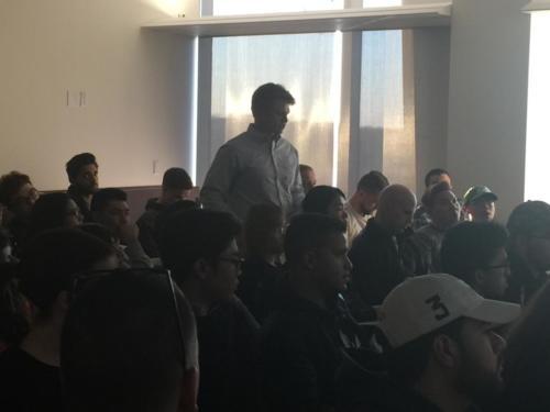 Student presentations, University of Massachusetts - Boston (UMB)