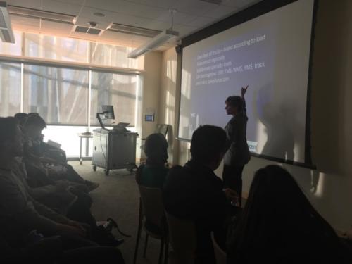 Student Supply Chain workshop at University of Massachusetts - Boston (UMB)