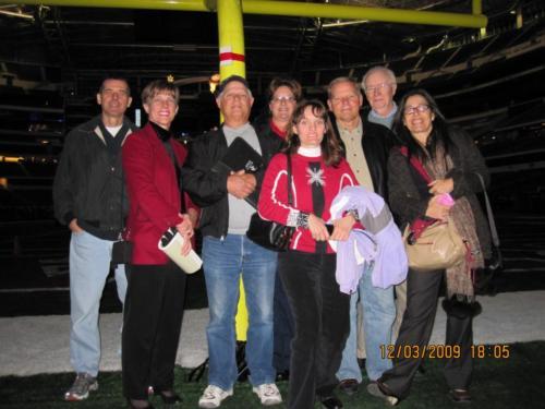 APICS North Texas tour of Cowboy's Stadium